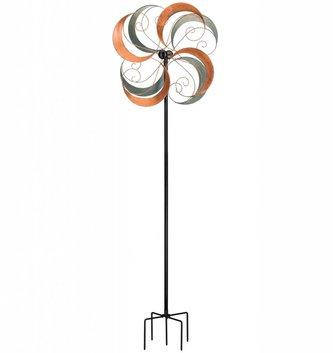 Rotating Swirls Wind Spinner