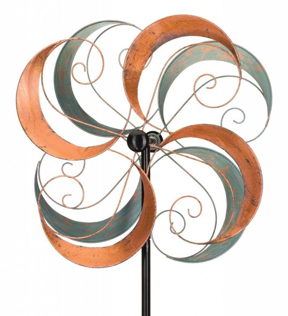 Rotating Swirls Wind Spinner