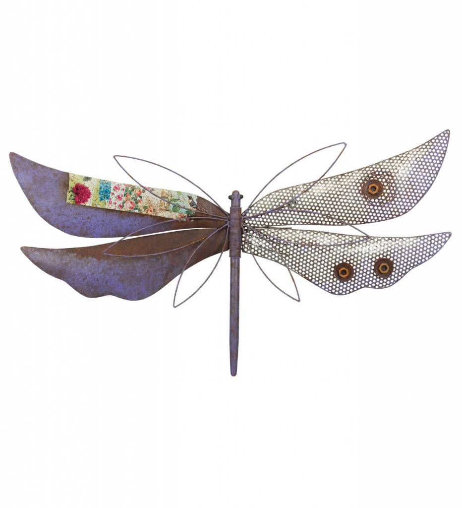 Eclectic Dragonfly Wall Art