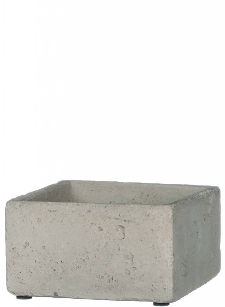 Gray Cement Container