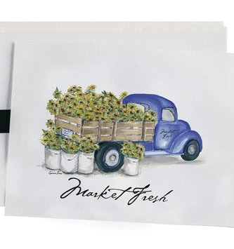 Market Fresh Collection Notecards