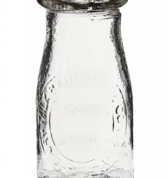 Glass Milk Bottle (2 Sizes)