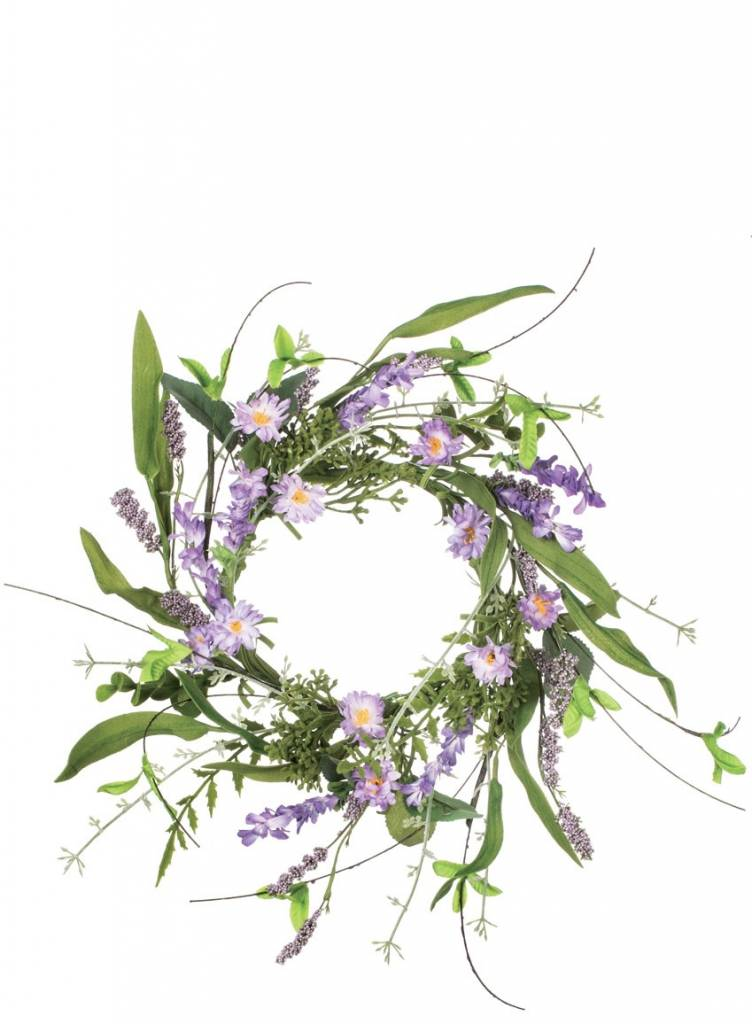 Lavender Meadow Candle Ring