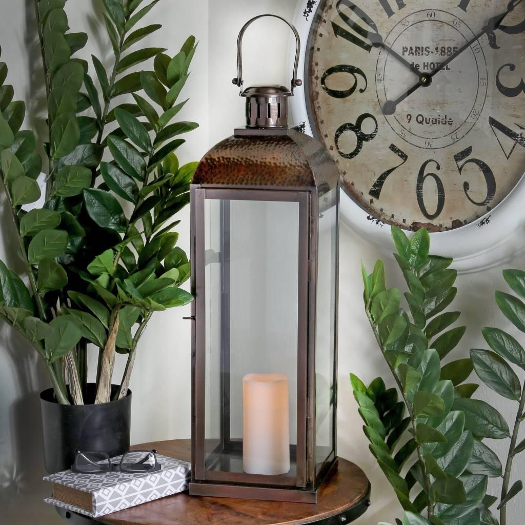 Antiqued Bronze Lantern
