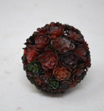 Crimson Chick Succulent Orb Small