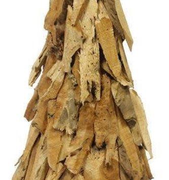 Wooden Lumberjack Christmas Tree