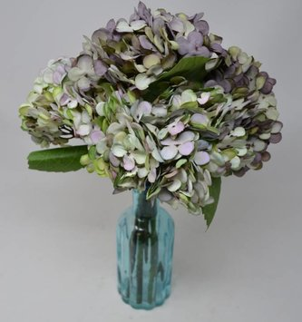 Variegated Lavender Hydrangea Pick (2 Colors)