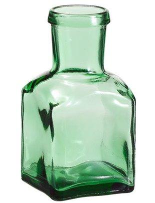 Green Spice Glass Bottle