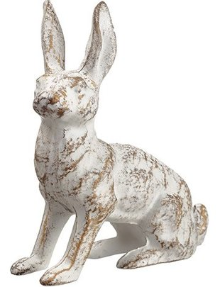 Antiqued Iron Bunny