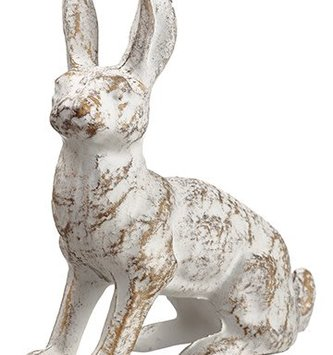 Antiqued Iron Bunny