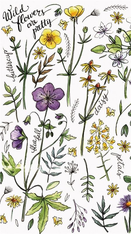 Wildflowers are Pretty Paper Napkins