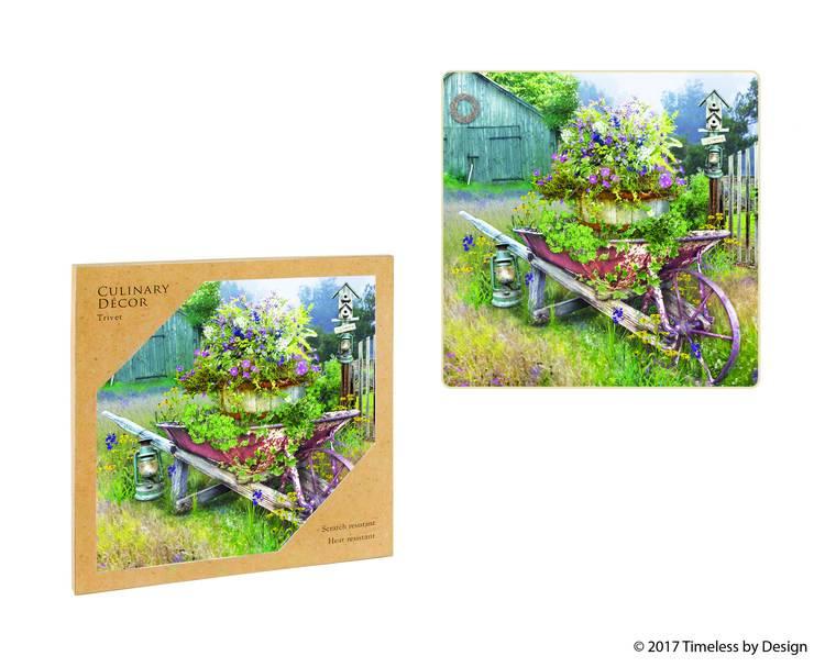 Garden in Spring Trivet