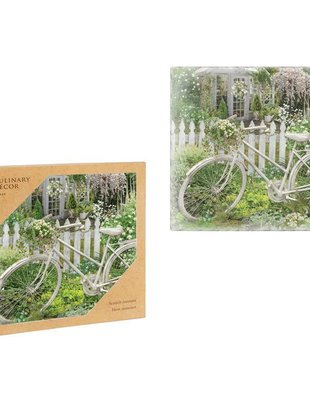 Vintage Bicycle in Garden Trivet