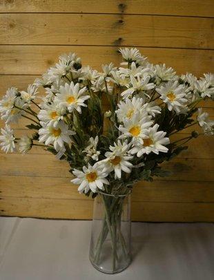 Large White Daisy Spray