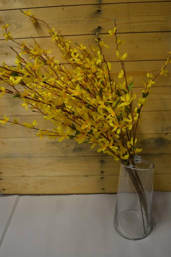 """38"""" Yellow Forsythia Spray"""