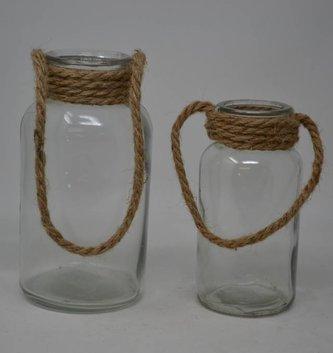 Rope Handled Bottle (2 Sizes)