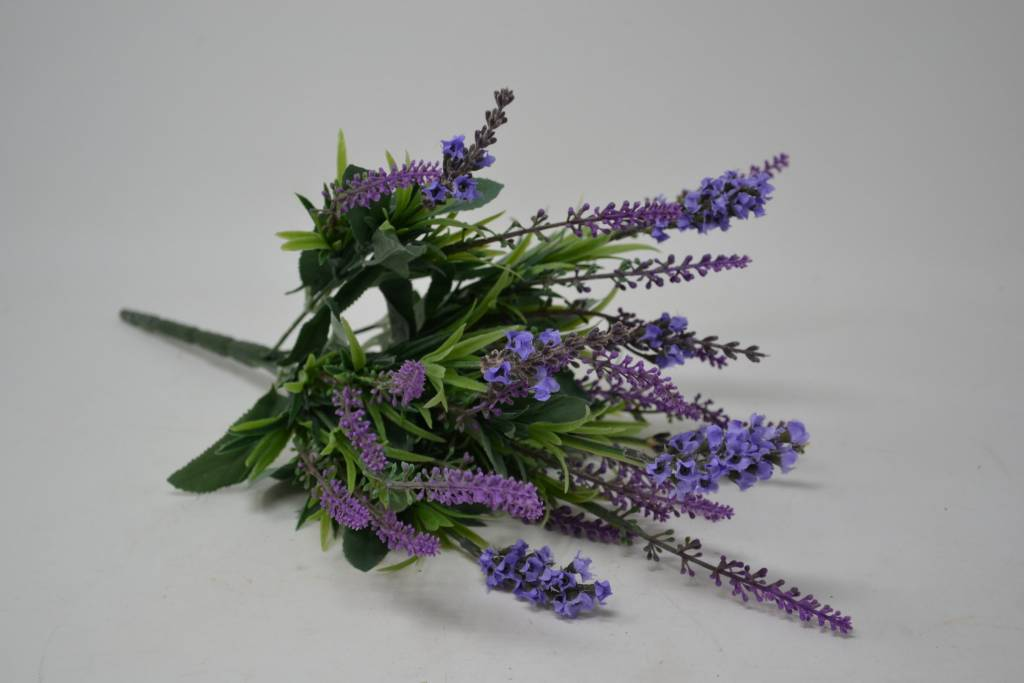 Mixed Lavender Bush Artificial Lavender That Looks Amazing