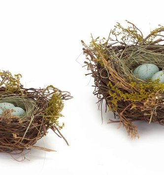 Blue Speckled Egg Nest (2 Sizes)