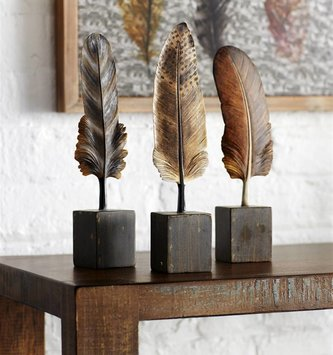 Feather On Base (3 Styles)