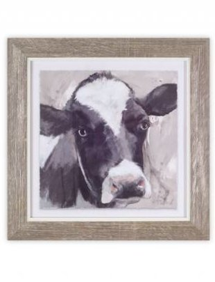 """10"""" Square Framed Cow Print ( 3 Styles)"""