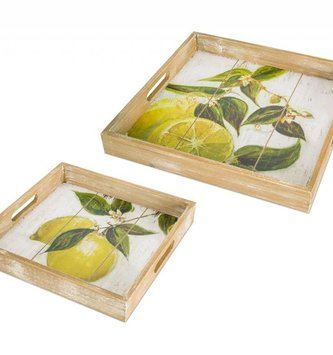 Wooden Lemon Tray (2 Sizes)
