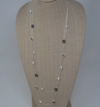 Pearl Bead Drop Necklace