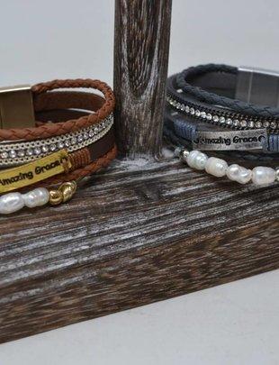 Multi Strand Amazing Grace Bracelet (2 Colors)