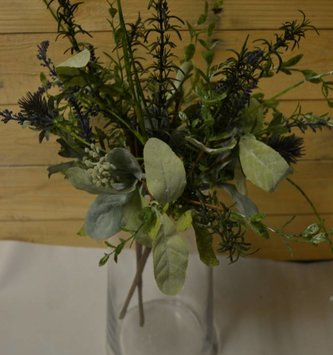 Mixed Herb & Thistle Bush