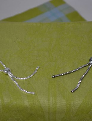 Rhinestone Slider Bracelet (2 Colors)