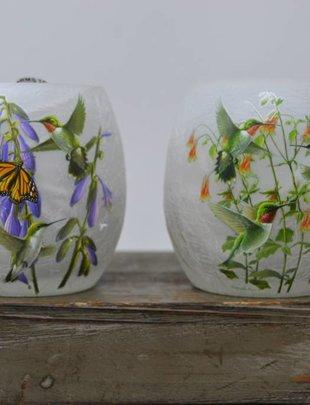 Mini Lighted Hummingbird Lamp (2 Styles)
