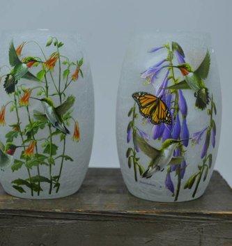 Small Lighted Hummingbird Lamp (2 Styles)
