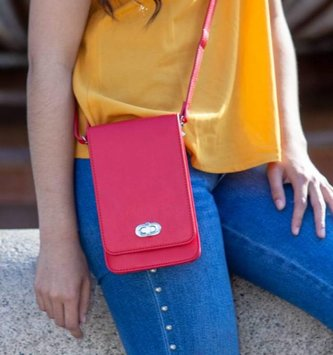 Elegant Touchscreen Crossbody w/ RFID Security