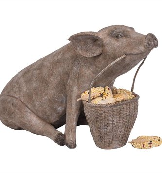 Wilbur the Pig with Basket