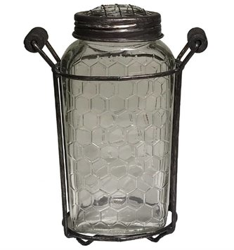 Honeycomb Frog Jar (2 Sizes)