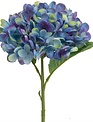 Hydrangea Pick with Leaves (2 Colors)