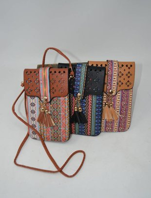 Aztec Touchscreen Crossbody (4 Colors)