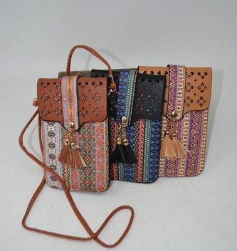 Aztec Touchscreen Crossbody (4 Colors)
