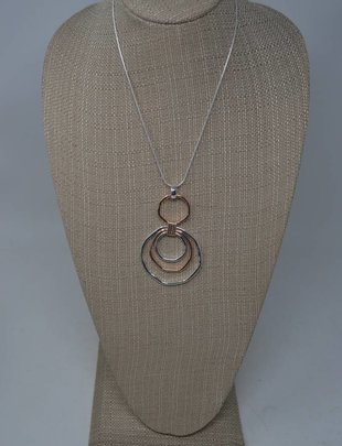 Triple Sphere Necklace