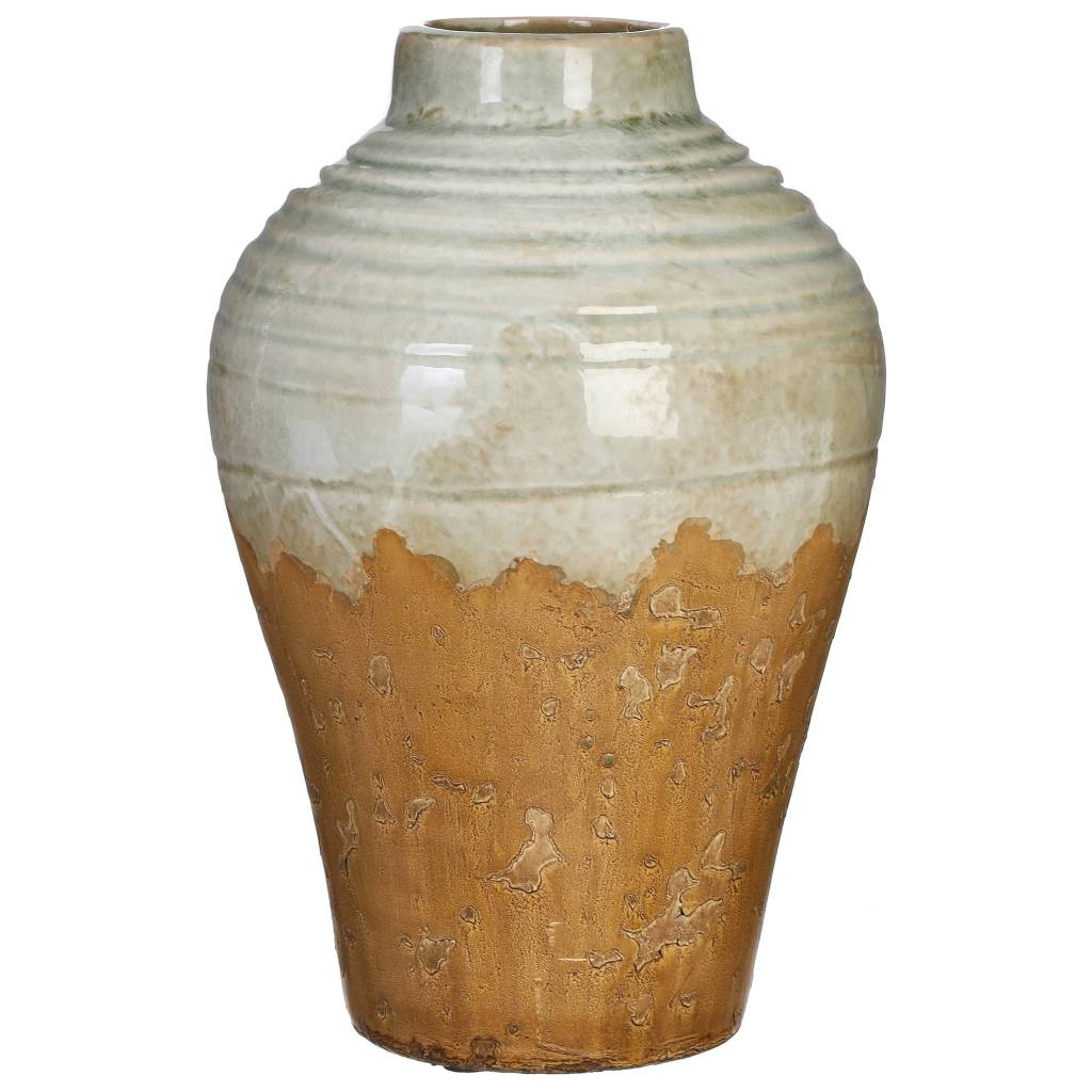 Sage Rustic Stoneware Vase (2 Sizes)
