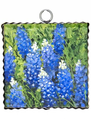 Bluebonnets Small Painted Print