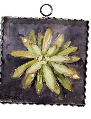 Succulent Small Painted Print