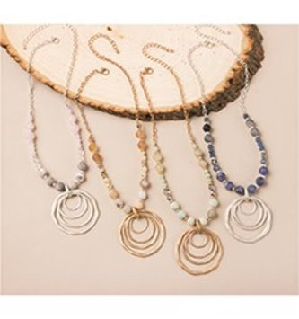 Tiered Circle Necklace (4 Colors)