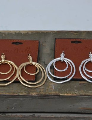 Tiered Circle Earrings (2 Colors)