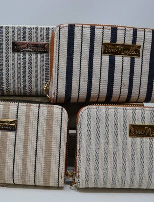 Catamaran Striped Wallet (4 Colors)