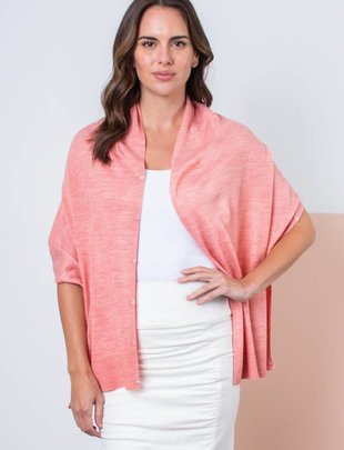 Heathered Bordeaux Wrap (6 Colors)