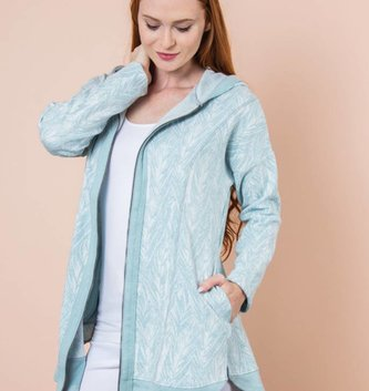 Palm Print Everyday Jacket (3 Colors)