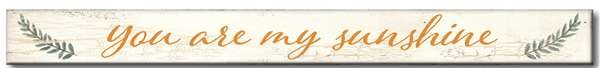 Rustic Home Skinny Wood Sign (12 Styles)