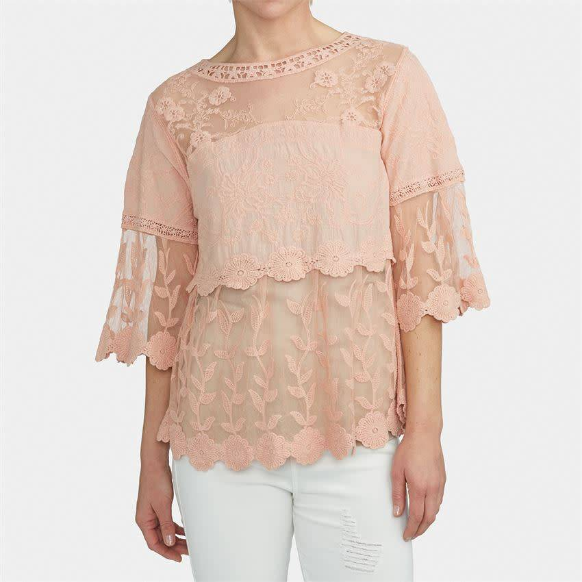 Airloom Lace Crochet Top (2 Colors)