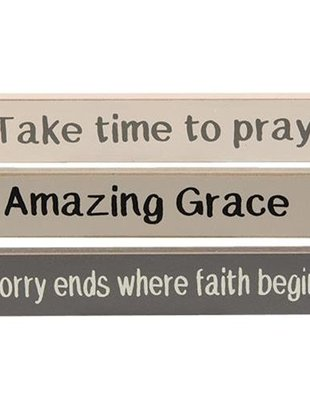 Wooden Mini Message Sign (6 Styles)