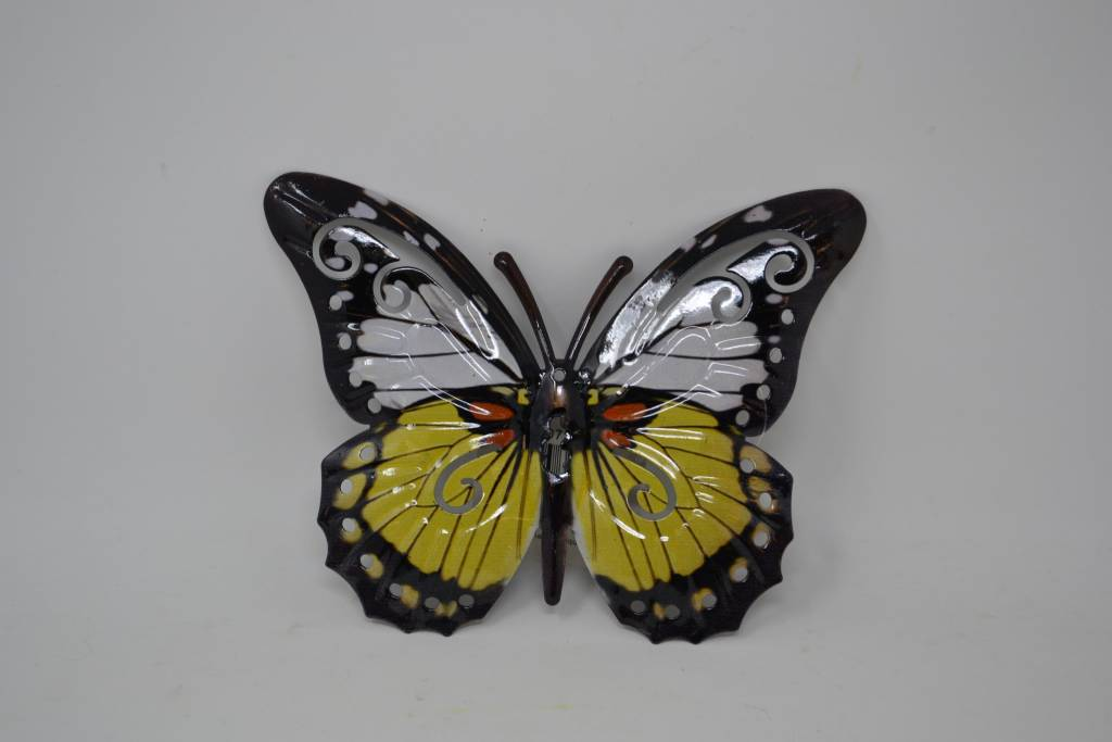 Small Colorful Metal Butterfly (8 Styles)